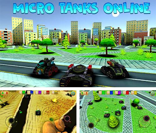 Micro tanks online: Multiplayer arena battle