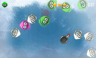 Screenshots of the Microbe Game for Android tablet, phone.