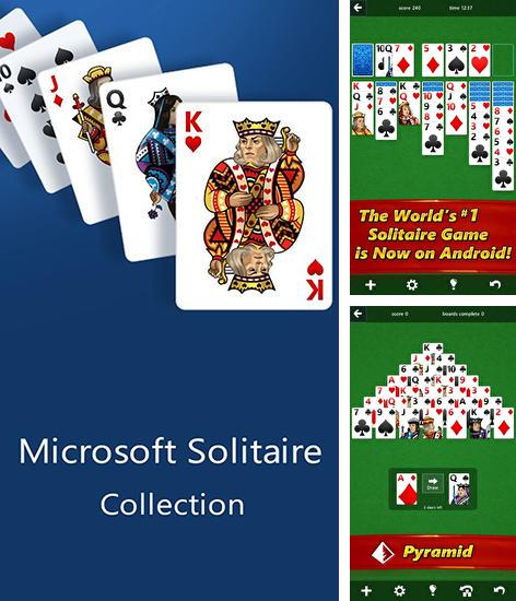 En plus du jeu Domino  pour téléphones et tablettes Android, vous pouvez aussi télécharger gratuitement Collection des solitaires Microsoft , Microsoft solitaire collection.