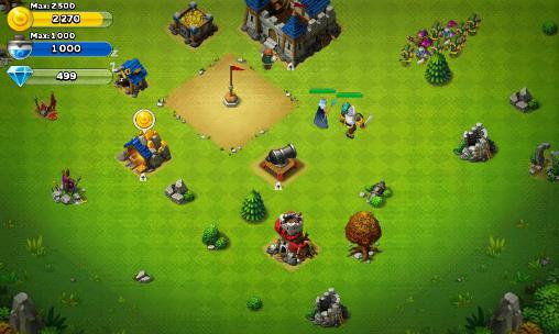Screenshots von Might and glory: Kingdom war für Android-Tablet, Smartphone.