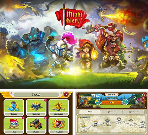 In addition to the game Pharaoh's war for Android phones and tablets, you can also download Might and glory: Kingdom war for free.