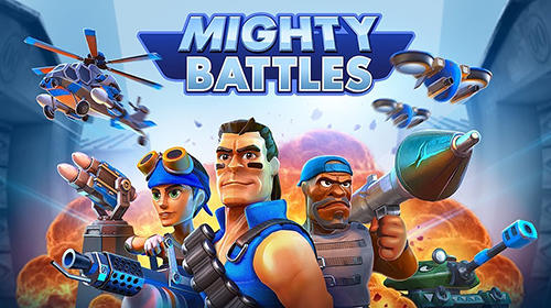 Mighty battles poster