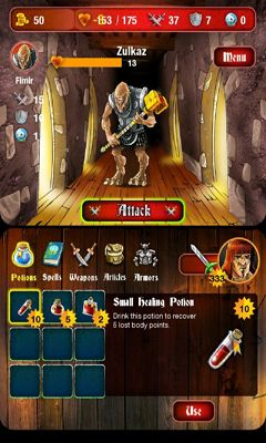 Screenshots von Mighty Dungeons für Android-Tablet, Smartphone.