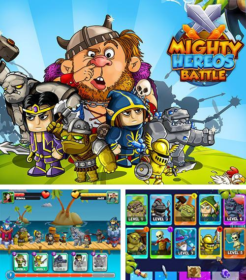 Mighty heroes battle: Strategy card game