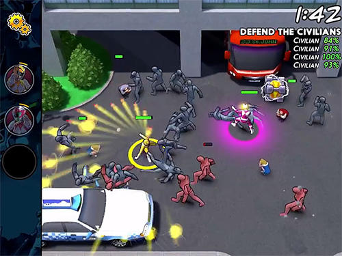 Mighty morphin: Power rangers. Morphin missions für Android spielen. Spiel Mighty Morphin: Power Rangers. Morphin Missioen kostenloser Download.