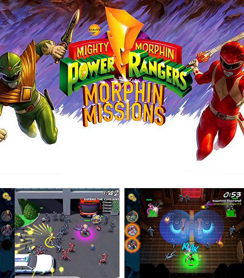 Mighty morphin: Power rangers. Morphin missions