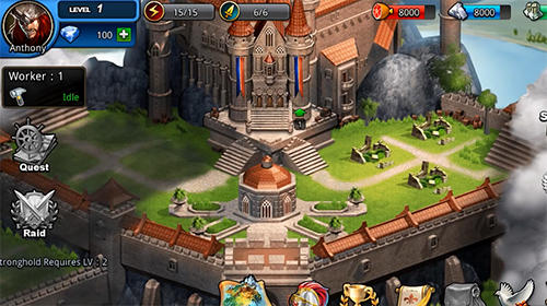 Mighty puzzle heroes screenshot 1