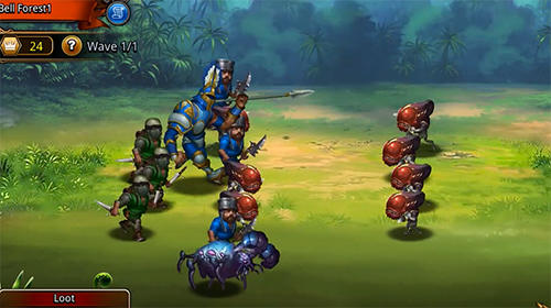 Mighty puzzle heroes screenshot 2
