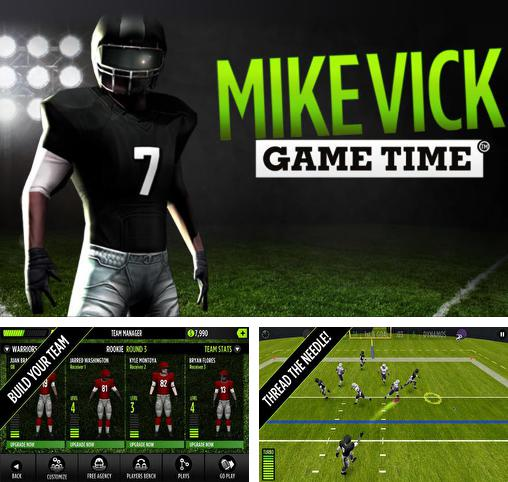 In addition to the game Gridiron Greats Return for Android phones and tablets, you can also download Mike Vick: Game time. Football for free.