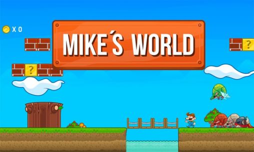 Mike's world poster