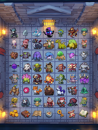 Minesweeper: Endless dungeon für Android spielen. Spiel Minesweeper: Endloser Dungeon kostenloser Download.