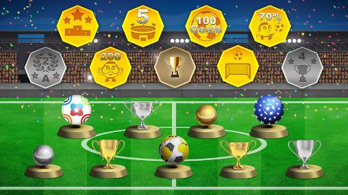 Capturas de pantalla de Mini football: Soccer head cup para tabletas y teléfonos Android.