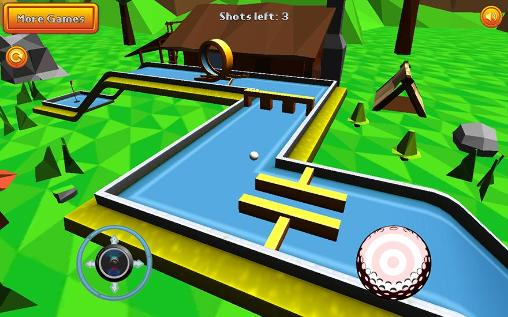 Screenshots von Mini golf: Retro für Android-Tablet, Smartphone.
