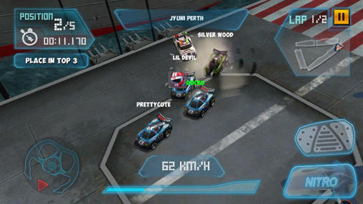 Mini motor racing WRT screenshot 1