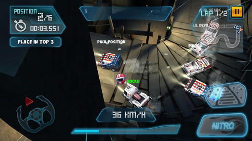 Mini motor racing WRT screenshot 3