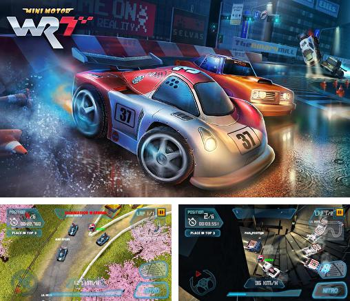 In addition to the game Reckless Racing for Android phones and tablets, you can also download Mini motor racing WRT for free.