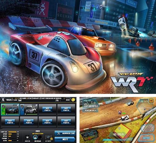 In addition to the game Reckless Racing 2 for Android phones and tablets, you can also download Mini motor WRT for free.