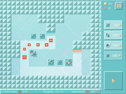 Mini TD: Classic tower defense game screenshot 2