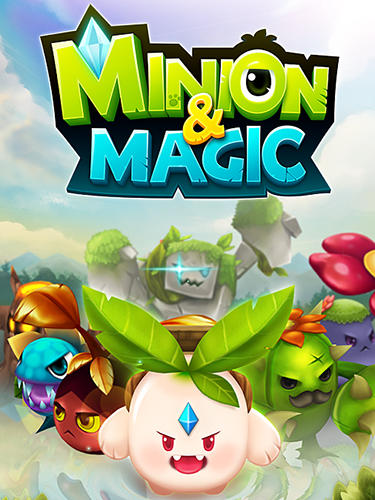 Minion and magic poster