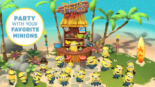 Screenshots do Minions paradise - Perigoso para tablet e celular Android.