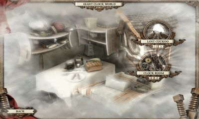 Screenshots of the Mirror Mysteries for Android tablet, phone.