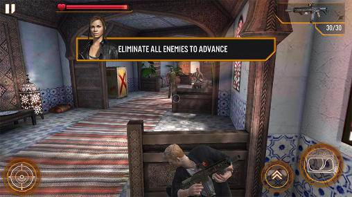 Геймплей Mission impossible: Rogue nation для Android телефону.