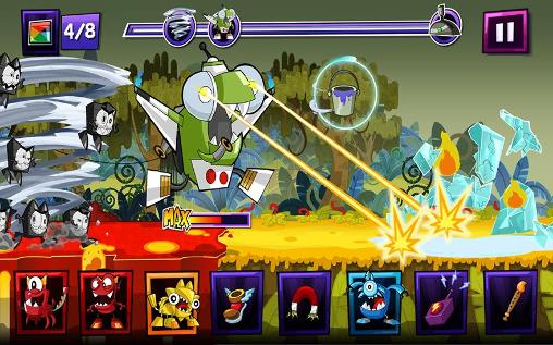 Screenshots do Mixels rush - Perigoso para tablet e celular Android.