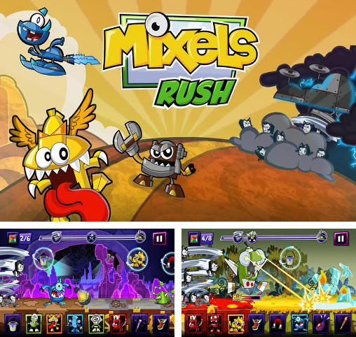 In addition to the game Adventure time: Puzzle quest for Android phones and tablets, you can also download Mixels rush for free.