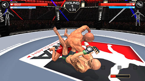Screenshots von MMA Fighting clash für Android-Tablet, Smartphone.