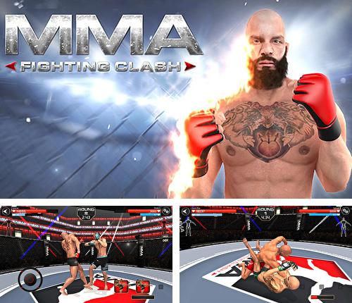 In addition to the game WWE wrestling 3D for Android phones and tablets, you can also download MMA Fighting clash for free.