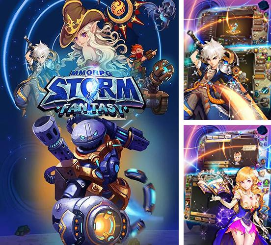 In addition to the game Gumballs and dungeons for Android phones and tablets, you can also download MMORPG Storm fantasy for free.