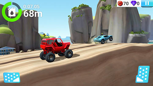 Screenshots von MMX hill dash 2 für Android-Tablet, Smartphone.