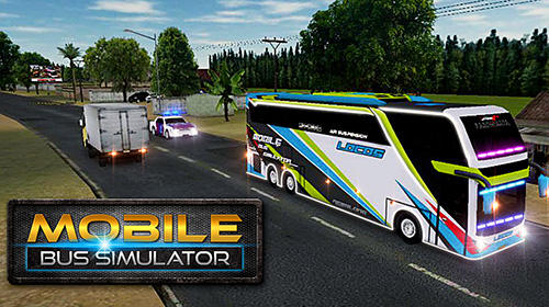 Mobile bus simulator