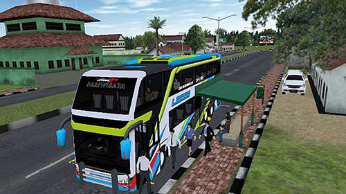 Download Mobile bus simulator Android free game.