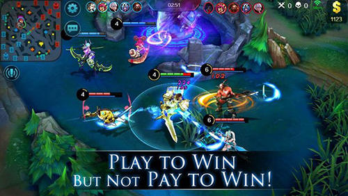 Screenshots von Mobile legends für Android-Tablet, Smartphone.