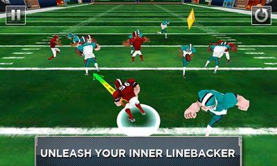 Screenshots of the Mobile Linebacker for Android tablet, phone.