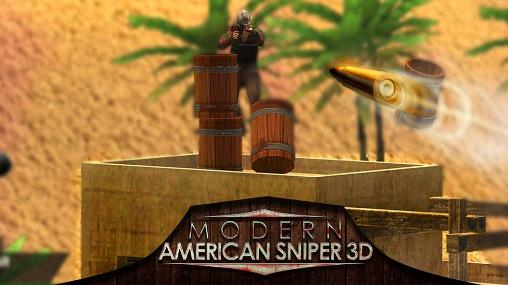 Modern american snipers 3D poster