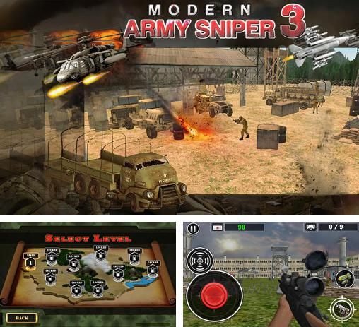 Modern army sniper shooter 3