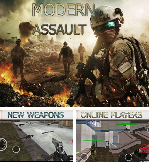 In addition to the game Pixel combat multiplayer HD for Android phones and tablets, you can also download Modern assault multiplayer for free.