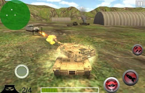 Jogue Modern battle tank: War para Android. Jogo Modern battle tank: War para download gratuito.