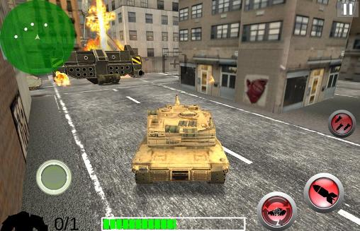 Screenshots do Modern battle tank: War - Perigoso para tablet e celular Android.