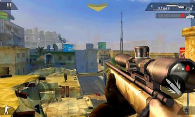 Screenshots von Modern Combat 2 Black Pegasus HD für Android-Tablet, Smartphone.