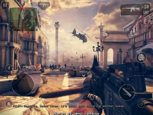 Modern combat 5: Blackout screenshot 1