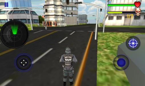 Screenshots of the Modern police: Sniper shooter for Android tablet, phone.