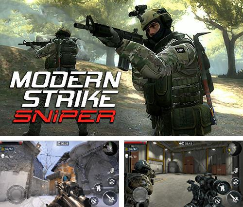 In addition to the game Last day fort night survival: Force storm. FPS shooting royale for Android phones and tablets, you can also download Modern strike sniper 3D for free.