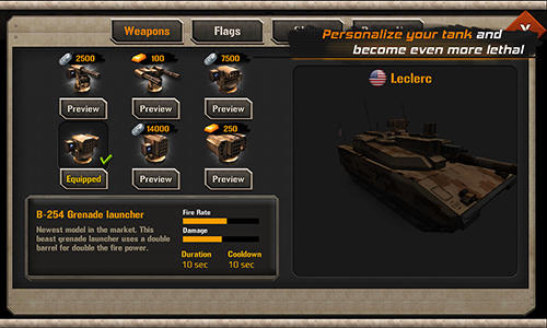 Kostenloses Android-Game Modern Tank Force: Kriegsheld. Vollversion der Android-apk-App Hirschjäger: Die Modern tank force: War hero für Tablets und Telefone.