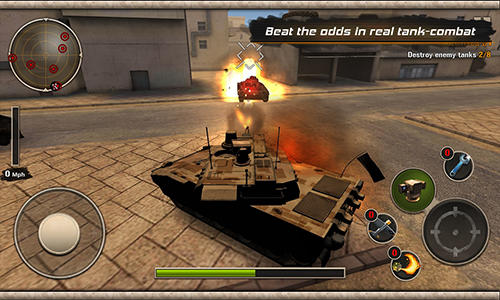 Screenshots von Modern tank force: War hero für Android-Tablet, Smartphone.