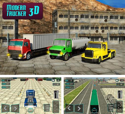 In addition to the game Big truck hero: Truck driver for Android phones and tablets, you can also download Modern trucker 3D for free.