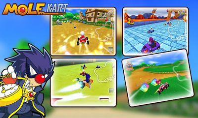 Download Mole Kart Android free game.