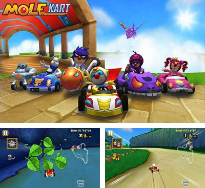 In addition to the game Planet 51 Racer for Android phones and tablets, you can also download Mole Kart for free.